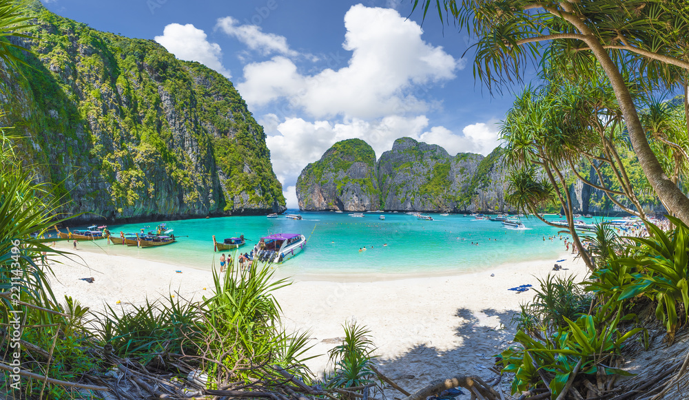 Fototapety, obrazy: Amazing Maya Bay on Phi Phi Islands, Thailand