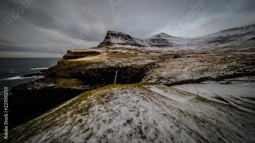 Foto op Plexiglas Donkergrijs Faroe Islands
