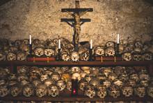 Decorated Skulls In The Parish...