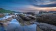 Coastal Seashore Sea Stone Scenery