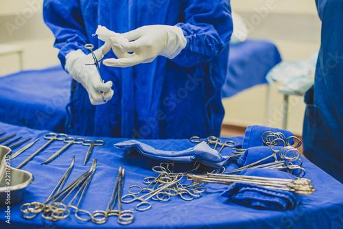 Instrumentação Cirúrgica Canvas Print