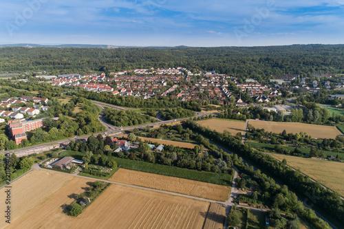 Luftaufnahme Wolfbusch in Baden Württemberg