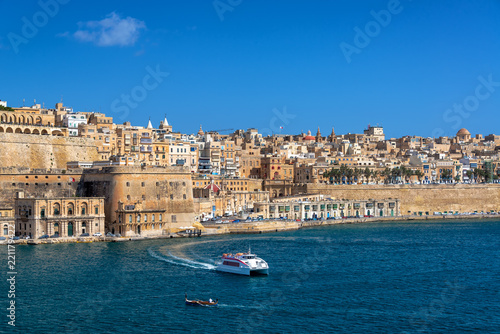 Foto op Canvas Poort Grand Harbor in Valletta
