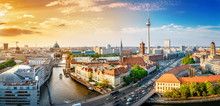 Panoramic View At The Berlin C...