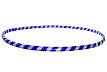 The Hula Hoop Silver With Blue...