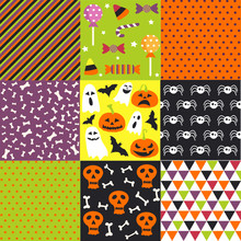 Halloween Set, Patterns