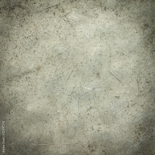 Grungy scratched stainless steel surface for graphic design and backdrop or textures for game developers.