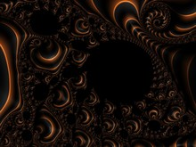 Dark Pattern. Abstract Computer Generated Fractal Design. Fractals Are Infinitely Complex Patterns That Are Self-similar Across Different Scales. Great For Cell Phone Wall Paper. Images Of Mandelbot