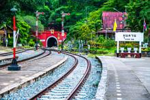 Khun Tan Railway Station In La...