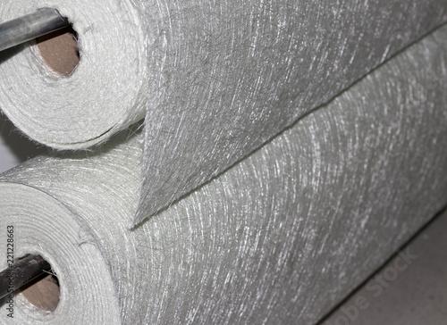Fiberglass fabric composite roll material Canvas Print