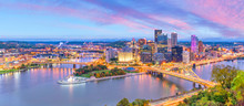 Downtown Skyline Of Pittsburgh...