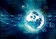 canvas print picture - internet big data concept