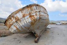 Broken Abandoned Boat