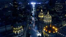 Buenos Aires Obelisk Night Aer...