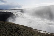 Majestic Waterfall, Gulfoss, Iceland
