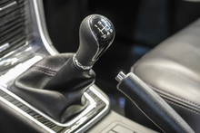 Gear Stick Of A Car
