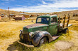 Rusty abandoned car in Bodie ghost town