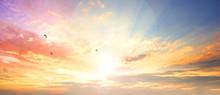 Celestial World Concept:Sunset...
