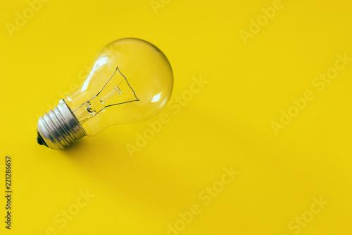 Carta da parati  Bulb, concept of idea
