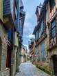 Impressionen aus Dinan - Gassen in der Altstadt