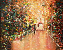 Architectural Arch. Painting. ...