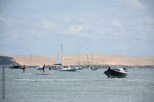 Staande foto Zeilen Cap-Ferret - Dune du Pilat
