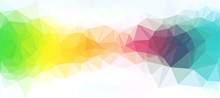 Colorful Abstract Polygonal Ba...