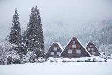 岐阜県 白川郷 雪景色
