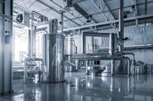 Modern Interior Of A Brewery M...