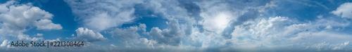 Fotografie, Obraz  360° Himmelspanorama