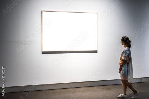 Fototapeta interior of gallery