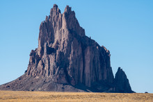 Shiprock Rock Formation In The...