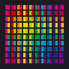Abstract Rainbow Color Palette Combination