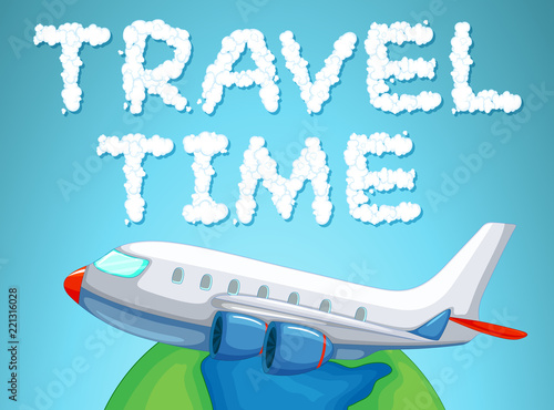 Travel time by plane