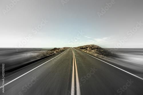 Fotografie, Obraz  Highway in Motion