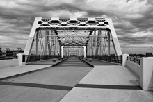 Shelby Pedestrian Bridge At Nashville, Tennessee