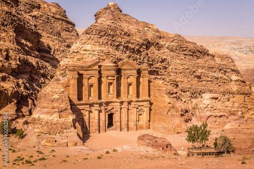 Fotografie, Obraz  The Monastery, Petra, Jordan, Middle East