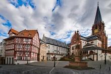 Altstadt Aschaffenburg, Bayern, Deutschland