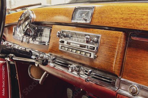 Papiers peints Vintage voitures Historisches Armaturenbrett, Oldtimer