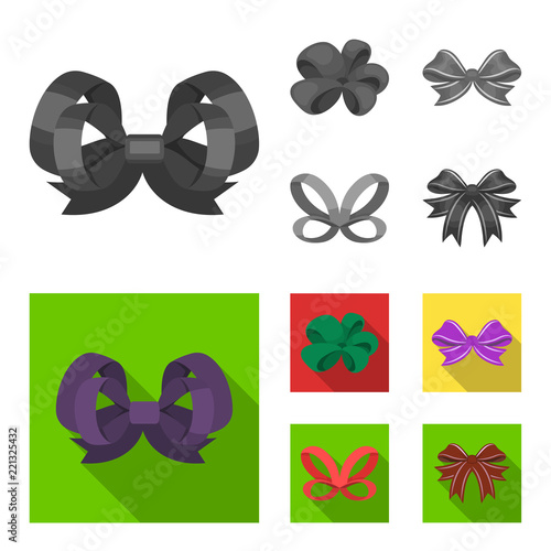 Fotografie, Tablou Ornamentals, frippery, finery and other web icon in monochrome,flat style