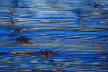 Blue Grunge Longstanding Wooden Board