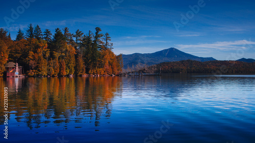Whiteface from Lake Placid Canvas Print