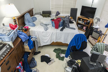 Very Messy, Cluttered Teenage ...