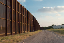 The Border Fence Between The U...