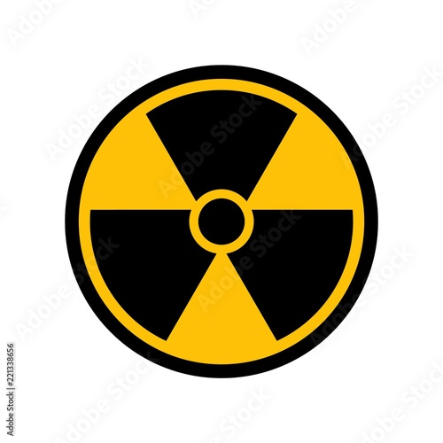 Vector Radioactive Symbol Buy This Stock Vector And Explore