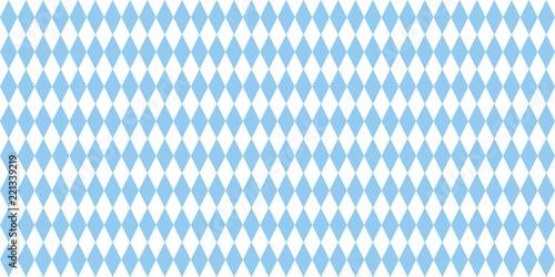 Photographie bavaria flag blue and white background
