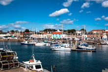 Small Harbor In Anstruther Vil...