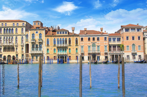Recess Fitting Channel Beautiful views of the Grand Canal in Venice, Italy