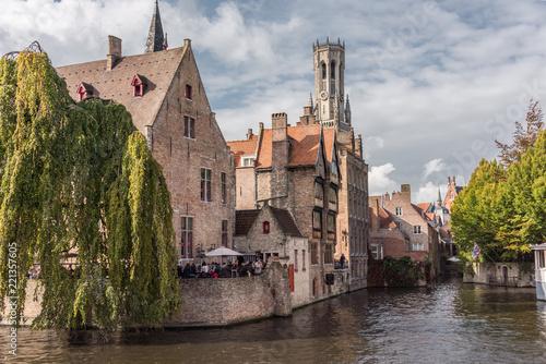 Poster Bridges Bruges, Belgium