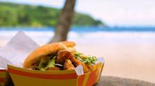 Fried Shark And Bake Fast Food...